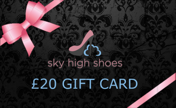 Sky High Shoes £20  GBP Gift Card