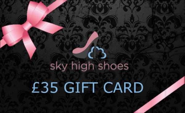 Sky High Shoes £35  GBP Gift Card