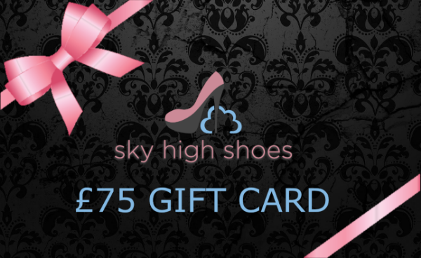 Sky High Shoes £75  GBP Gift Card